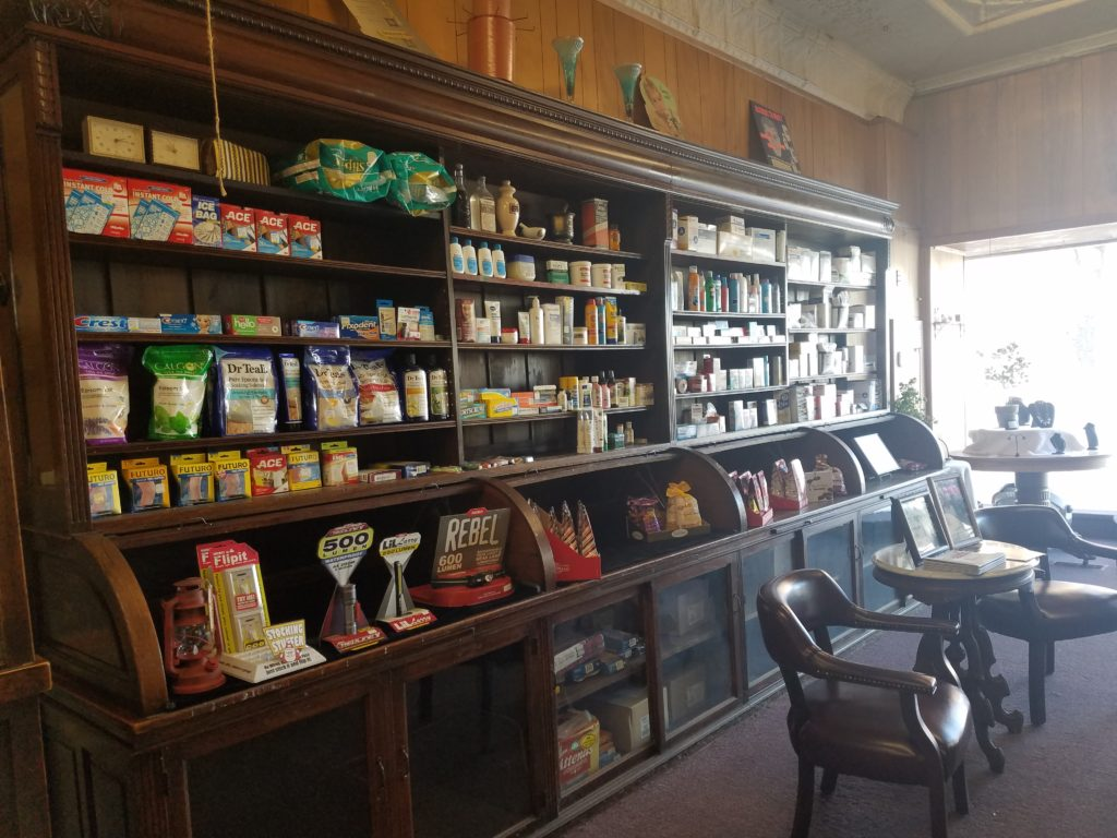 inside hargraves pharmacy